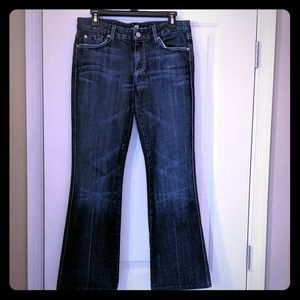 7 For All Mankind Petite 'A' Pocket Jeans. Size 29